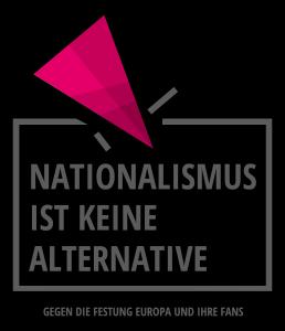 Nationalismus-ist-keine-Alternative-Logo-Web-Kampagne